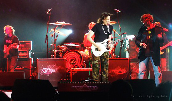 Steve Vai and Alex DePue, London 2007